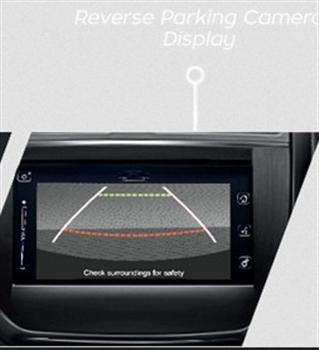 Rear View Camera with Parking Sensor