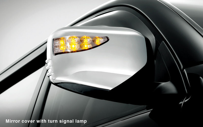 Mirror Cover With Turn Signal Lamp