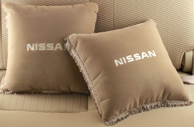 Cushion Pillow Set-Greige Coloured