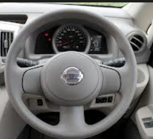 Steering Cover Grey - Ivory
