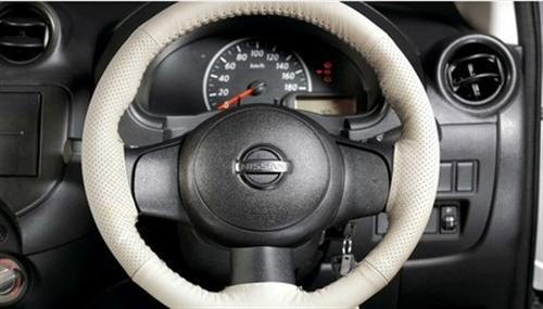 Steering Covers Grey Ivory