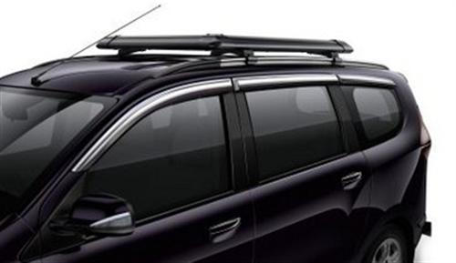 Wind Deflector Chrome