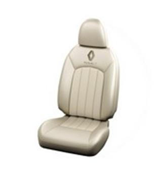 Seat Cover Art Leather Black- Beige