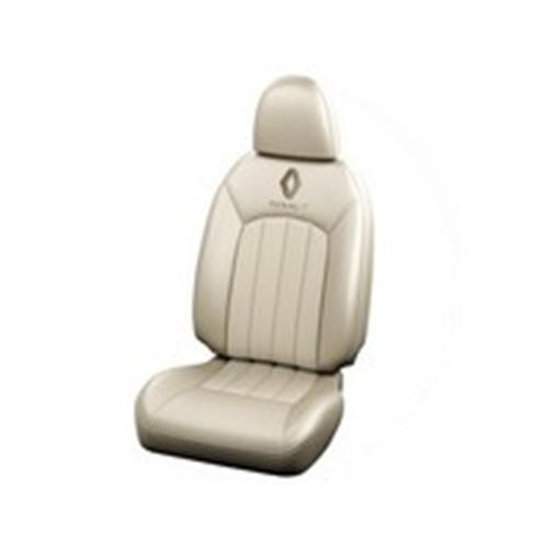 Seat Cover Fabric Blue-beige integrated- Detached