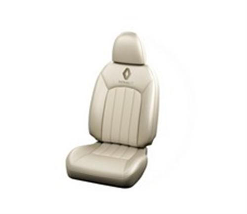 Seat Cover Velvette Ivory Detachable