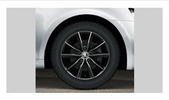Alloy rim - 16 Premia black