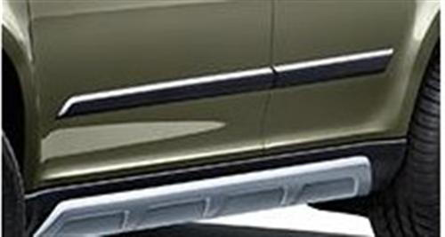 Black door sill covers