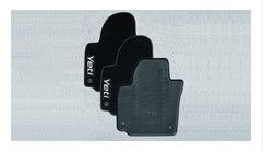 Foot mats 4-piece set  - rubber