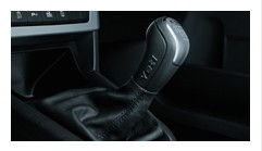 Leather gear stick sleeve