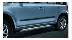 Side sill covers - ALU look