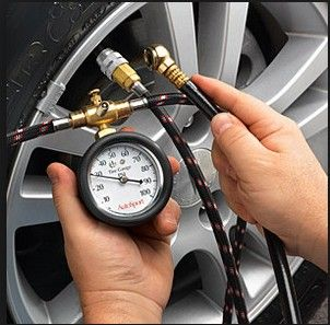 Indica V2 Turbo Max Tyre Pressure Gauge