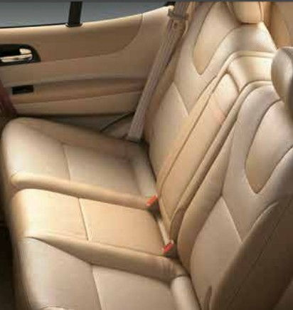 Seat Cover - Beige and Brown