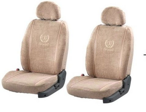 Seat Cover Art Leather Beige 7 Seater