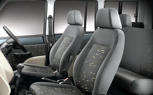 Seat Cover Grey Dobby and Grey 9