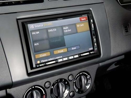 HUD with TPMS