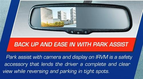 Park Assist With Display On Irvm