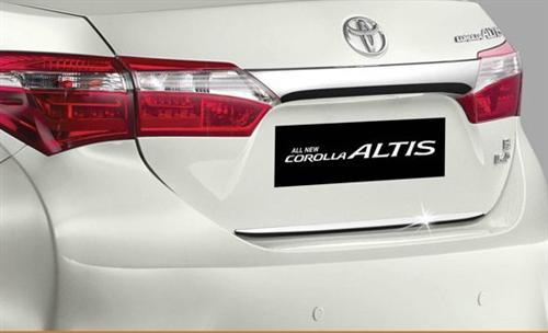 Corolla Altis  Back Door Garnish