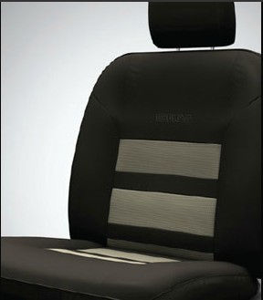 Seat Cover Artificial Leather Greige