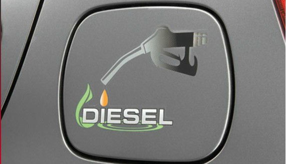 Fuel Lid Graphic- Diesel Dark
