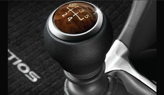 Gear Shift Knob Petrol Wooden- Ash Brown