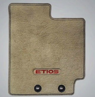 Fabric Floor Mat Greige