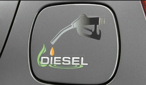 Fuel Lid Graphic-Diesel Light