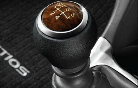 Gear Shift Knob Diesel Red