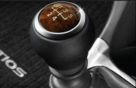 Platinum Etios Wooden Gear Shift Knob