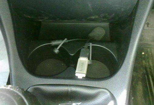 Usb Aux- In Port