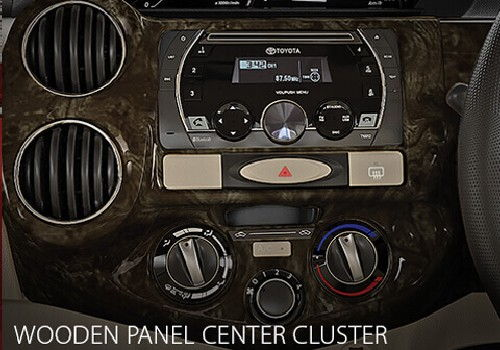 Wooden Panel Centre Cluster