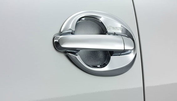 Chrome Door Housing 1