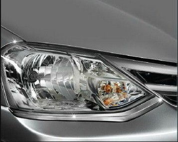 Head Lamp Chrome Housing