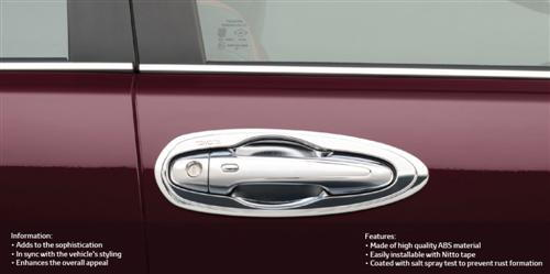 Chrome Door Housing - Inviting Entrance