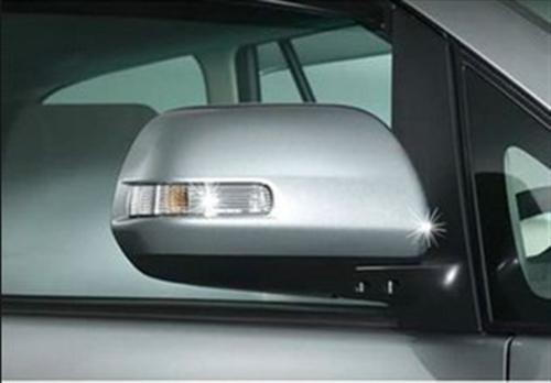 Chrome Mirror Cover With Turn Signal