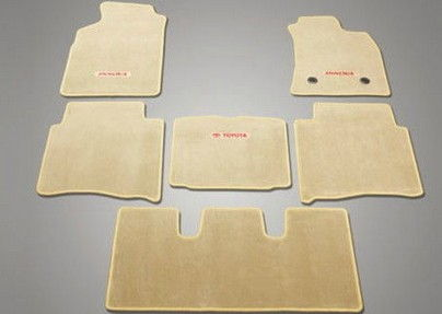 Floor Mat Fabric Pre Red