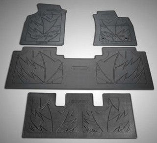 Floor Mat Rubber Std Black