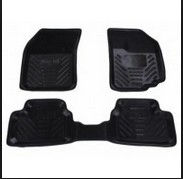 Etios Liva Floor Mat Rubber Std Black