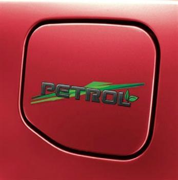 Fuel Lid Graphic - Petrol