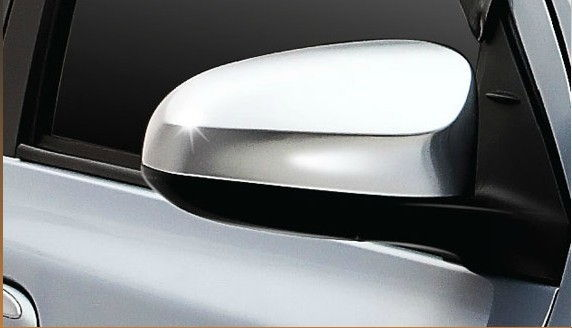 Outside Rear View Mirror Chrome Cover