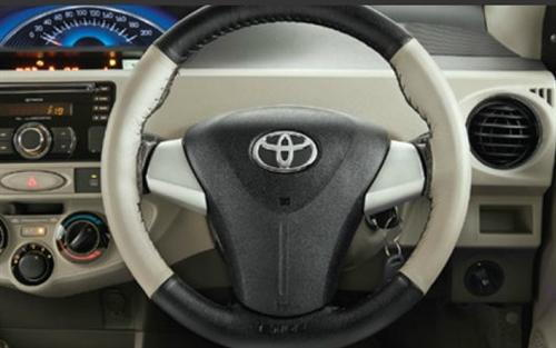 Steering Wheel cover Black and  Dark Grey