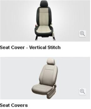 Seat Cover Beige - Split Type