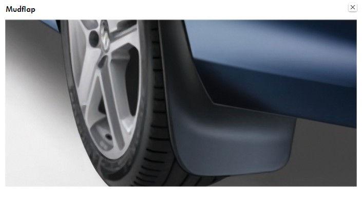 Mudflaps For Front and Rear