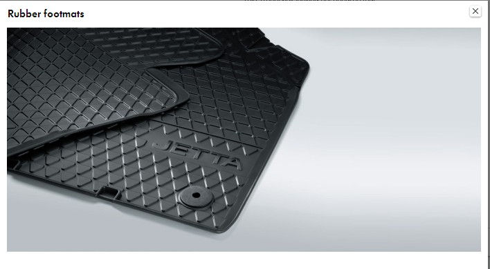 Rubber Footmats