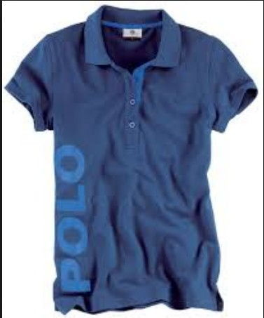 Polo Organic T Shirt Blue XL
