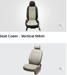 Seat Cover Beige - Non Split Type