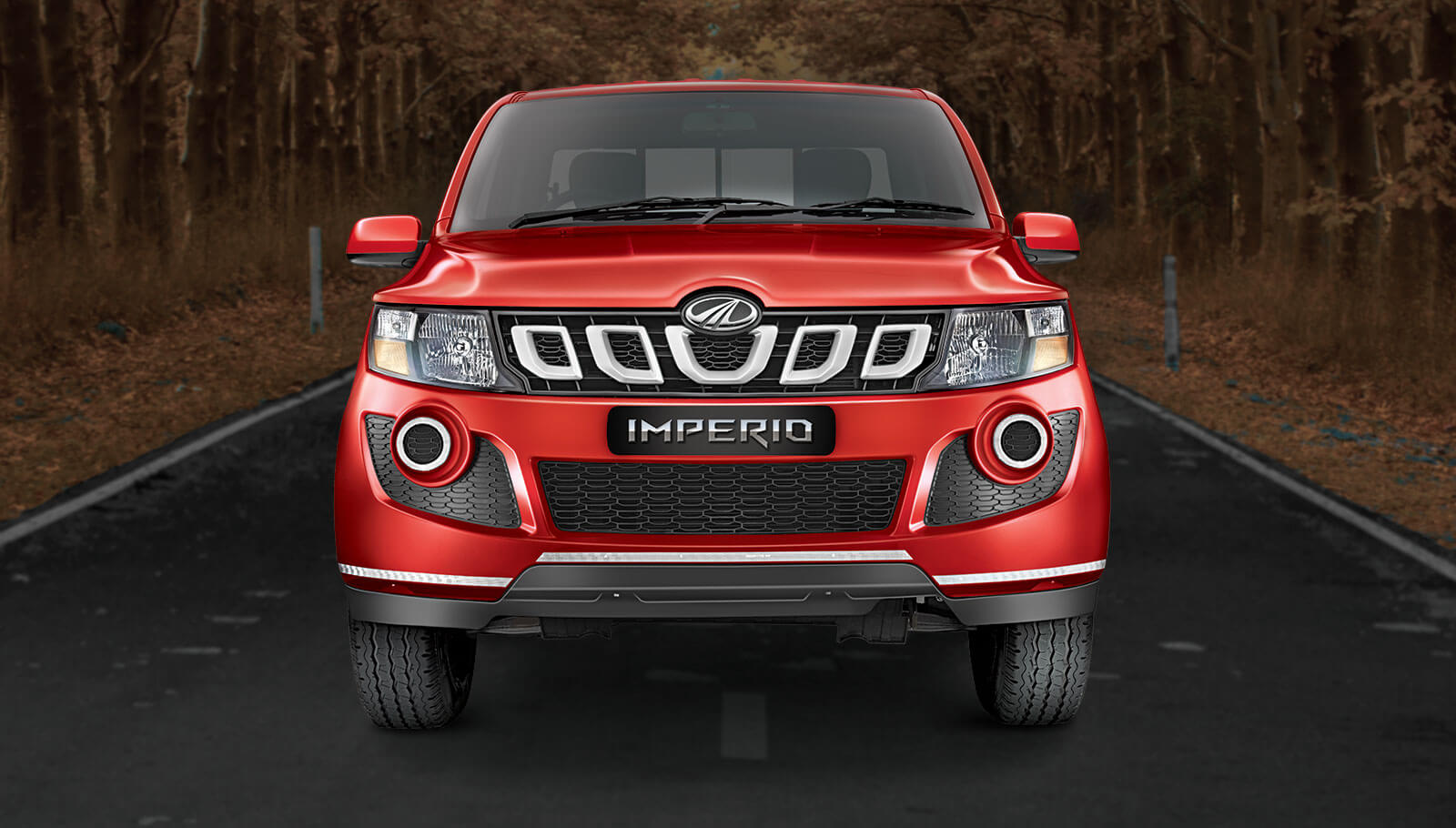 Mahindra Imperio Bumper Grille Headlamp