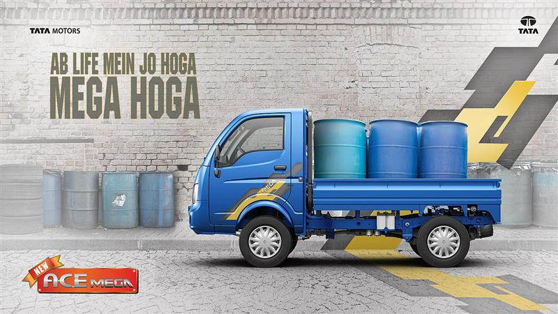 Tata Ace Mega Big Barrels