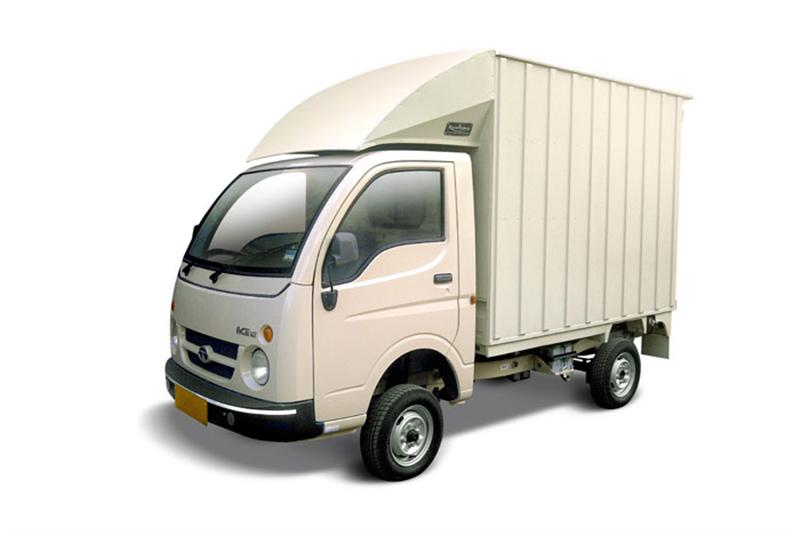 Tata Ace Mega Closed Container