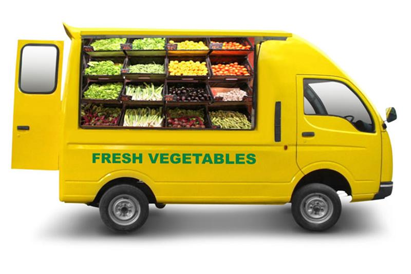 Tata Ace Mega Fruit And Veg Shop
