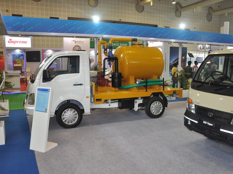 Tata Super Ace Application Suction Machine Bs Iii